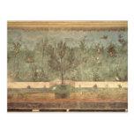 Pinturas del jardín del 'chalet de Livia Tarjeta Postal