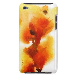 Pinturas florales abstractas 2 de la acuarela iPod Case-Mate protector