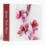 Pinturas florales abstractas 3 de la acuarela