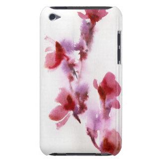 Pinturas florales abstractas 3 de la acuarela Case-Mate iPod touch carcasas