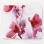 Pinturas florales abstractas 3 de la acuarela tapetes de ratones