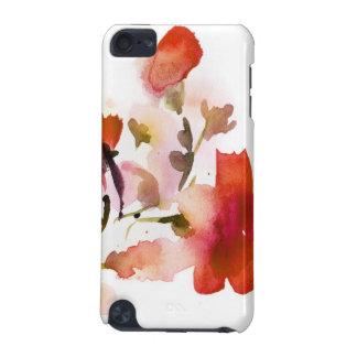 Pinturas florales abstractas de la acuarela