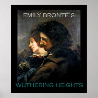 ¿Pinturas Heathcliff y Cathy de Gustave Courbet? Póster