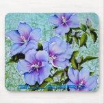 Pinturas Mousepad 22 de la flor Alfombrillas De Raton