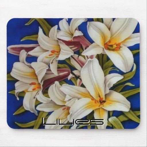 Pinturas Mousepad 65 de la flor Tapetes De Ratón