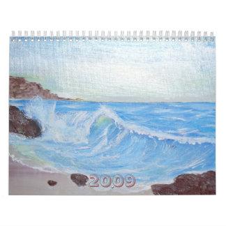 Pinturas pacíficas por la armonía 2009 calendario