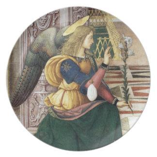 Pinturicchio Renaissance Christmas Angel Plate