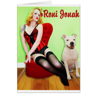 Pinup and Pete Card