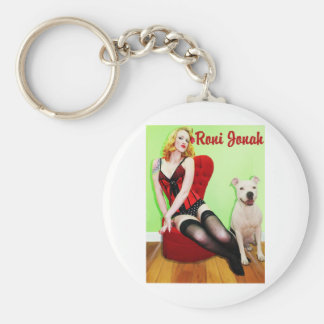 Pinup and Pete Keychain