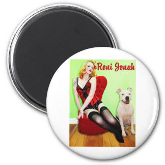 Pinup and Pete Refrigerator Magnets