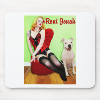 Pinup and Pete Mouse Pad