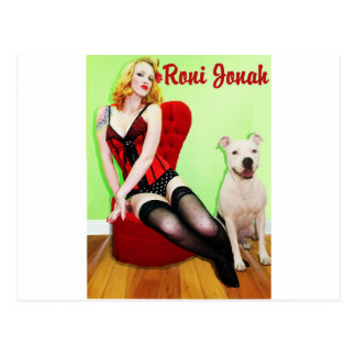 Pinup and Pete Postcard