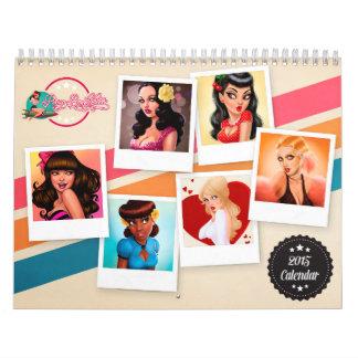 Pinup Bombshells 2015 Calendar
