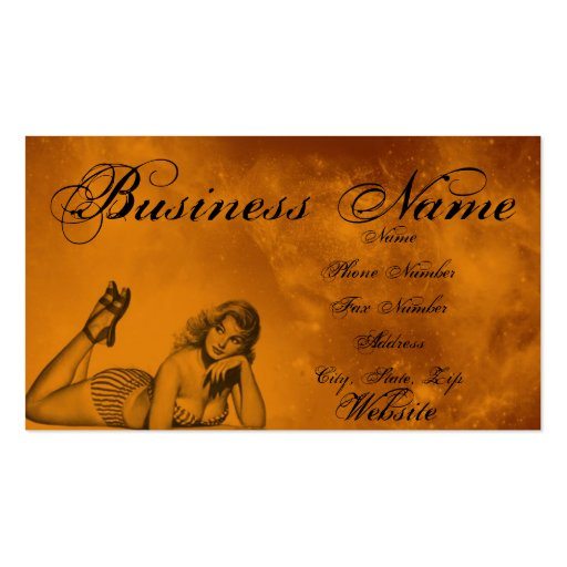 Pinup.. Business Card