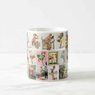 Pinup Collection Pin Up Art Coffee Mug