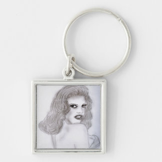 Pinup - Dream Girl Keychain