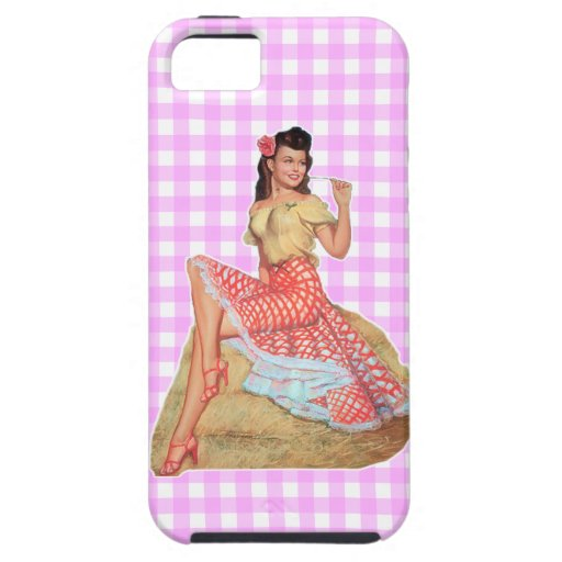 Pinup Girl iPhone 5 Cover