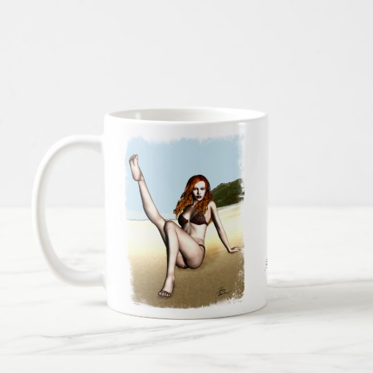 PinUp Girl Melanie Coffee Mug