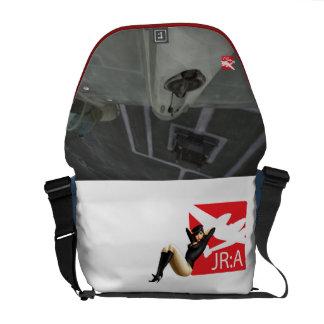Pinup Girl Messenger Bag 'John Ross: American'