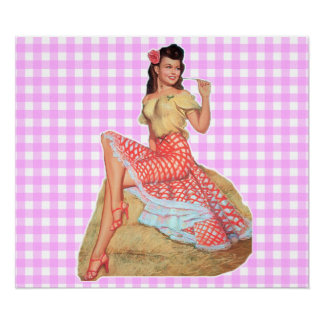 Pinup Girl Posters