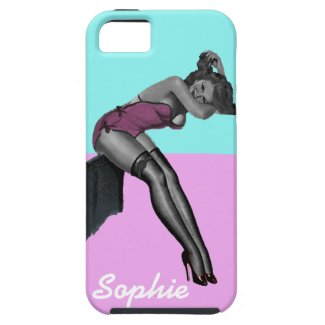 pinup girl retro vintage iphone 5 vibe case cover iPhone 5 covers