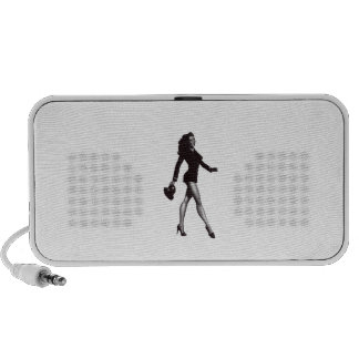 Pinup Girl Portable Speakers