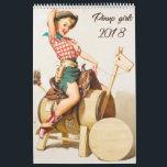 """Pinup girls 2018 calendar<br><div class=""""desc"""">Pinup girls 2018 calendar</div>"""