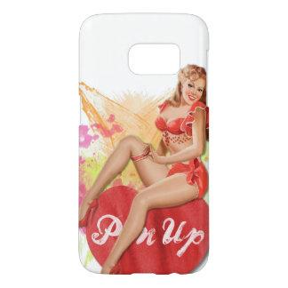 Pinup Heart Samsung Galaxy S7 Case