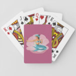 "Pinup mermaid playing cards<br><div class=""desc"">Pinup mermaid playind card</div>"