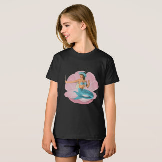 Pinup mermaid T-Shirt