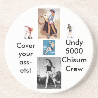 Pinup Montage coasters