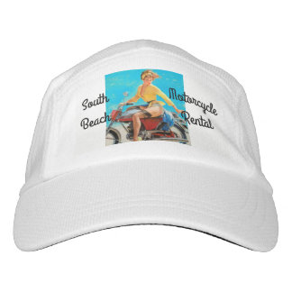 Pinup Motorcycle Headsweats Hat