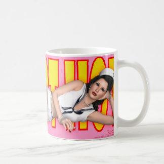PinUp Mug - Hot Hot Hot ~ (Hello Sailor)