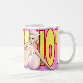 PinUp Mug - Hot Hot Hot ~ (Natasha 'Beach Peach')