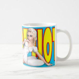 PinUp Mug - Hot Hot Hot ~ (Natasha 'Nighty Night')