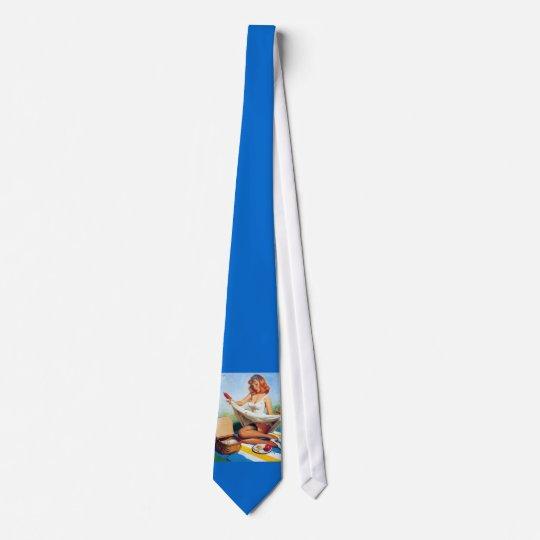 Pinup Picnic necktie