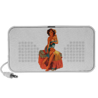 Pinup Pin Up Girl Speaker System