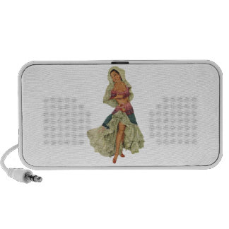 Pinup Pin Up Girl iPod Speakers