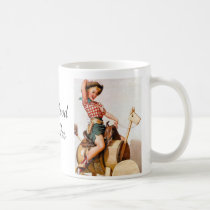 Pinup Saddle Coffee Mug