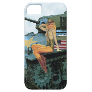 PinUp Tanker iPhone Case iPhone 5 Case