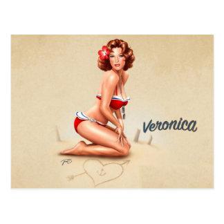 PinUp Veronica Postales