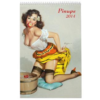 Pinups 2014 calendar