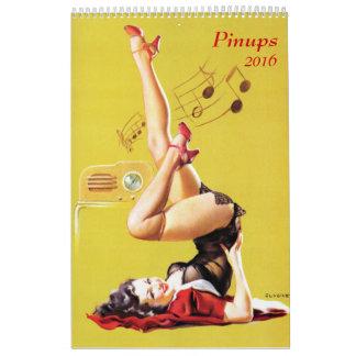 Pinups 2016 calendar