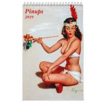 Pinups 2019 calendar