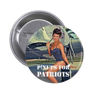 Pinups para los patriotas oficiales pins