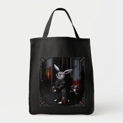 PinWabbit Grocery Tote Bag
