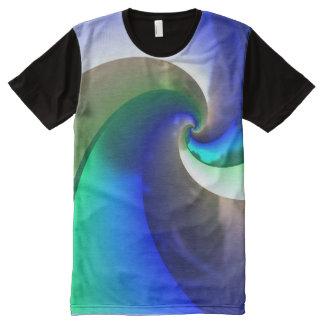 Pinwheel 2-2A Image Options All-Over-Print T-Shirt