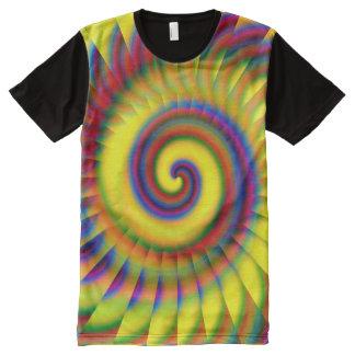 Pinwheel 5A-D Image Options All-Over-Print T-Shirt
