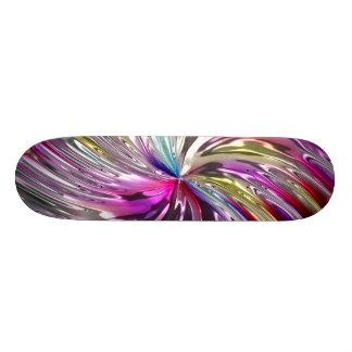 Pinwheel 6A-6D Image Options Skateboard