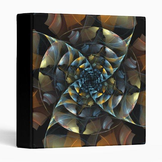 Pinwheel Abstract Art Binder